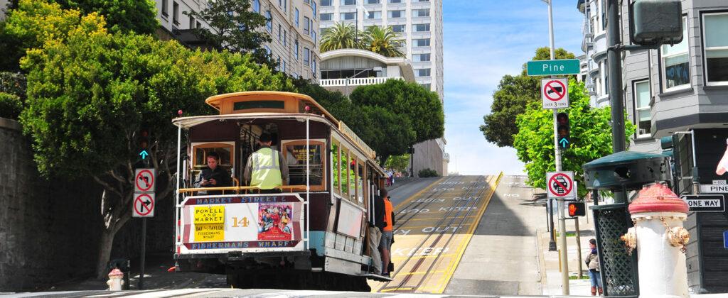 Spårvagn i San Francisco.