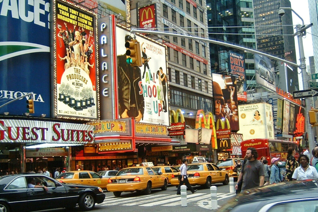 Times Square i New York.