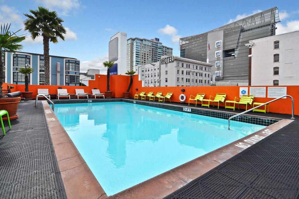 Americania Hotel, San Francisco.