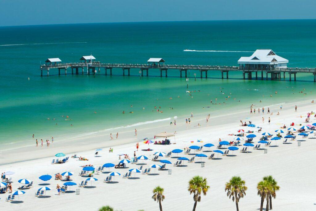 Pier 60 i Clearwater Beach, Florida.