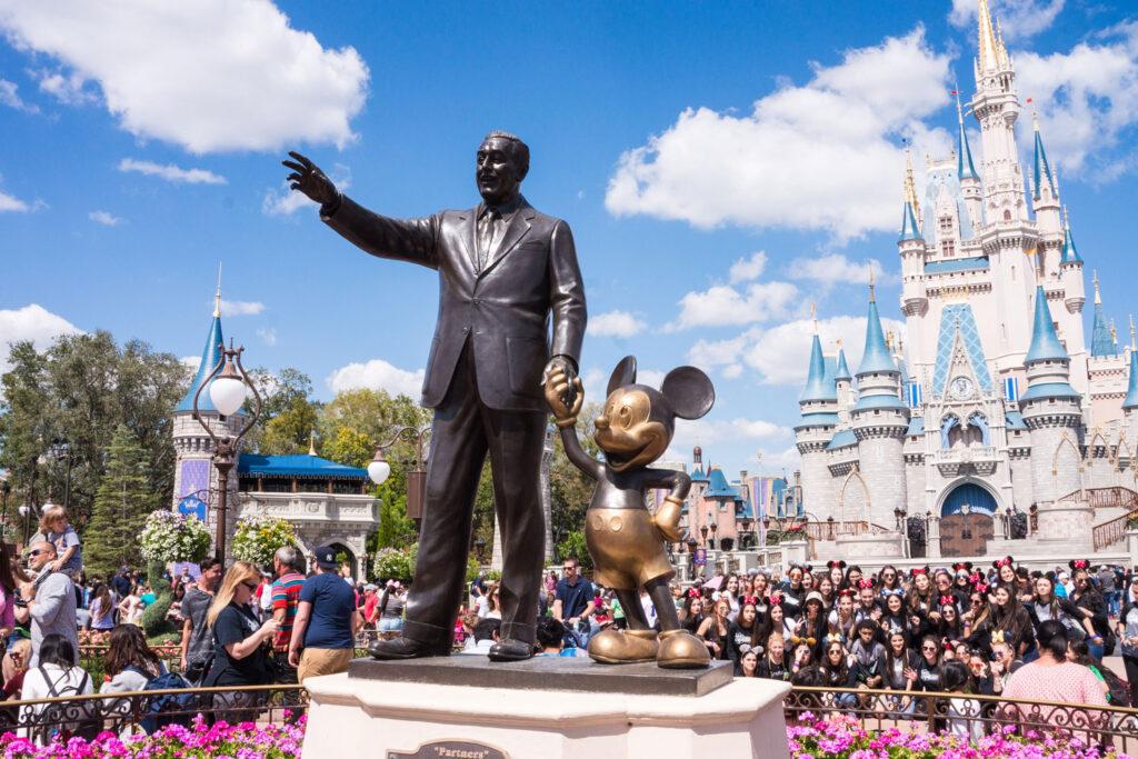 Disney World i Orlando, Florida.