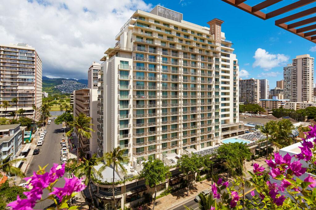 Hilton Garden Inn Waikiki Beach, Honolulu.