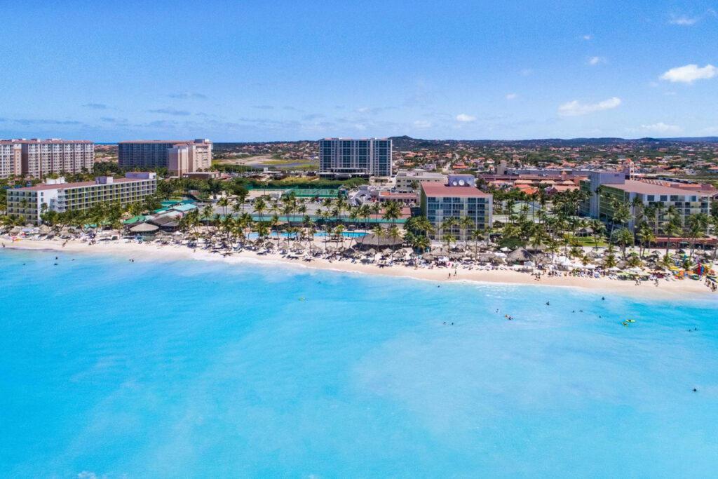 Holiday Inn Resort Aruba.