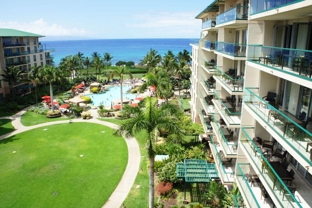 Honua Kai Resort, Lahaina, Maui.