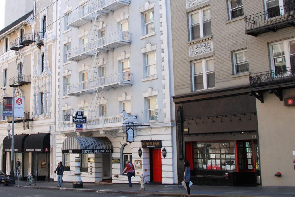 Hotel Beresford, San Francisco.