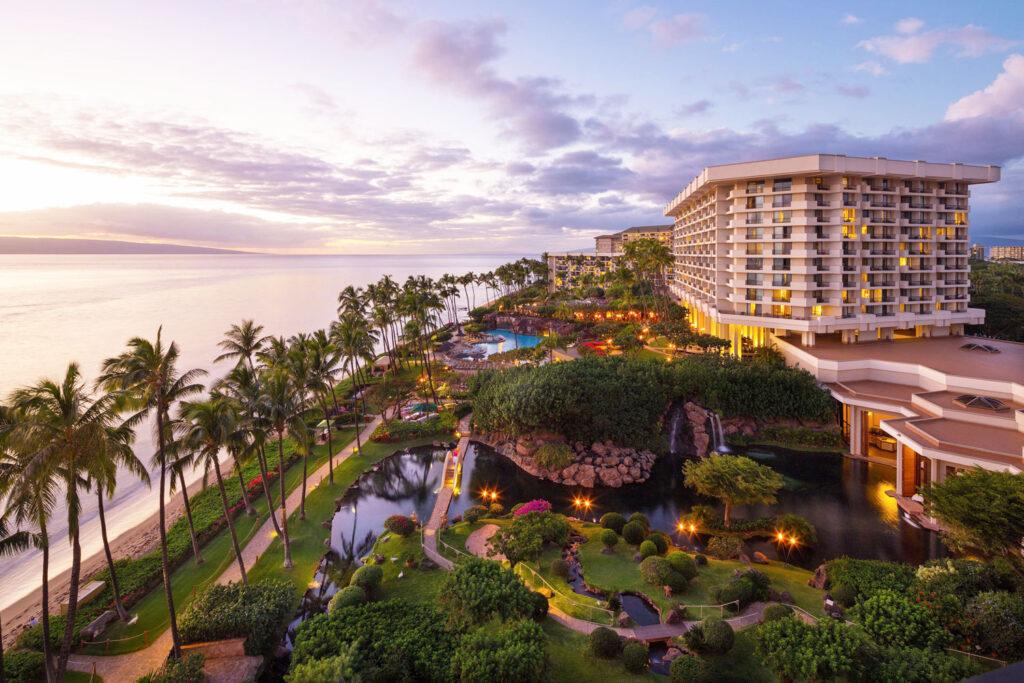 Hyatt Regency Maui.