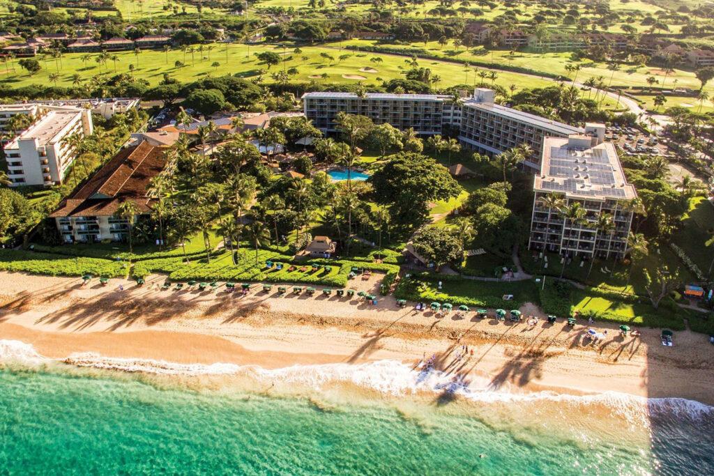 KKaanapali Beach Hotel, Lahaina, Maui.
