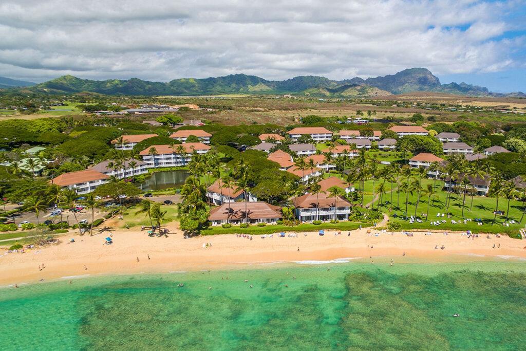 Kiahuna Plantation Resort, Kauai.
