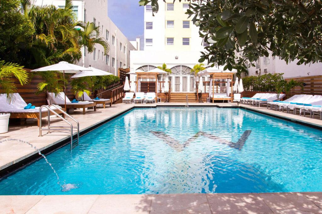 Marseilles Hotel, Miami Beach.