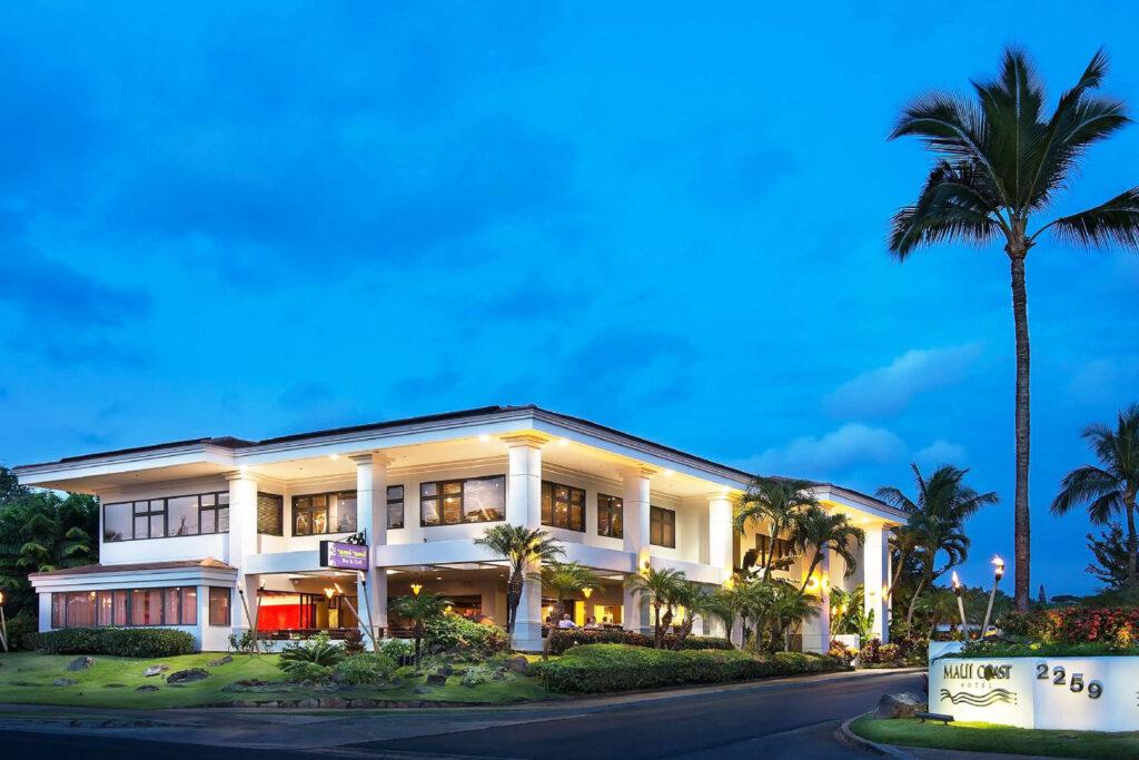 Maui Coast Hotel.