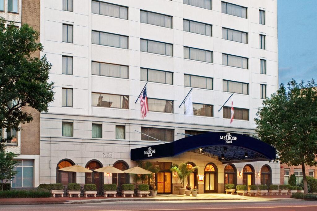 Melrose Georgetown Hotel, Washington DC.