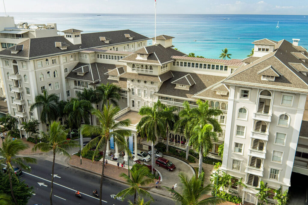 Moana Surfrider, Honolulu.