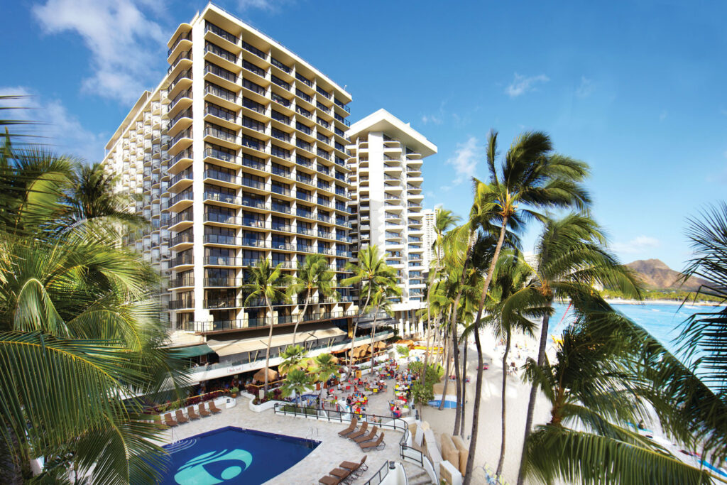 Outrigger Waikiki Beach Resort, Honolulu.