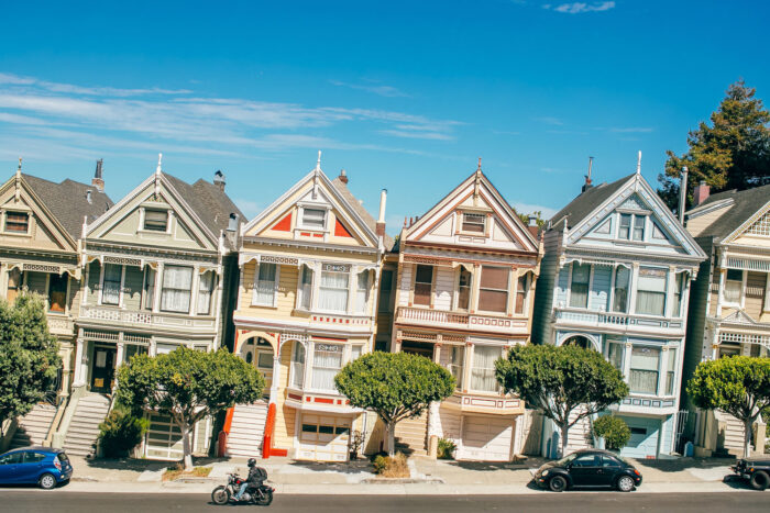 Painted Ladies i San Francisco.