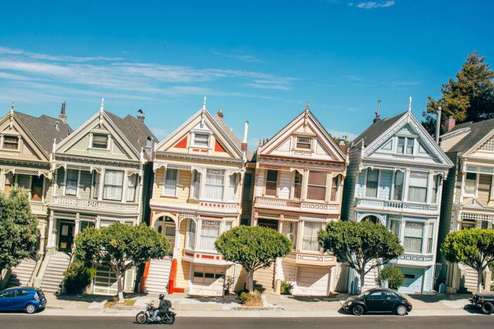 Painted Ladies i San Francisco.
