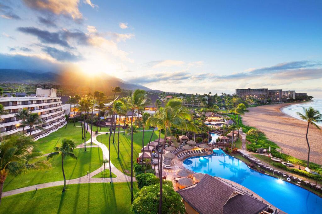Sheraton Maui Resort.