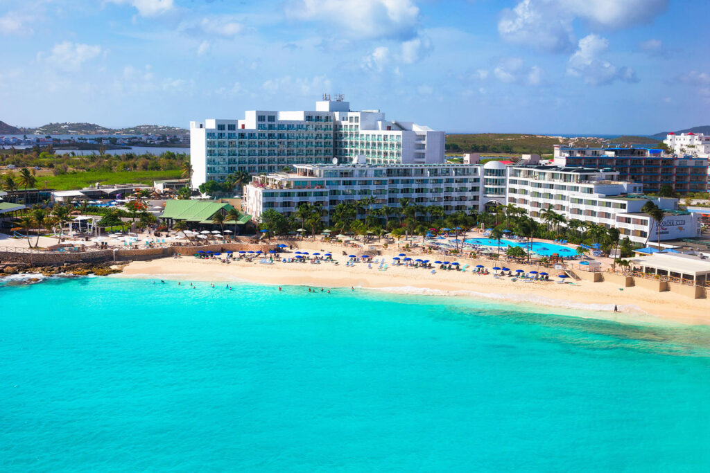 Sonesta Maho Beach Resort, Saint Martin.
