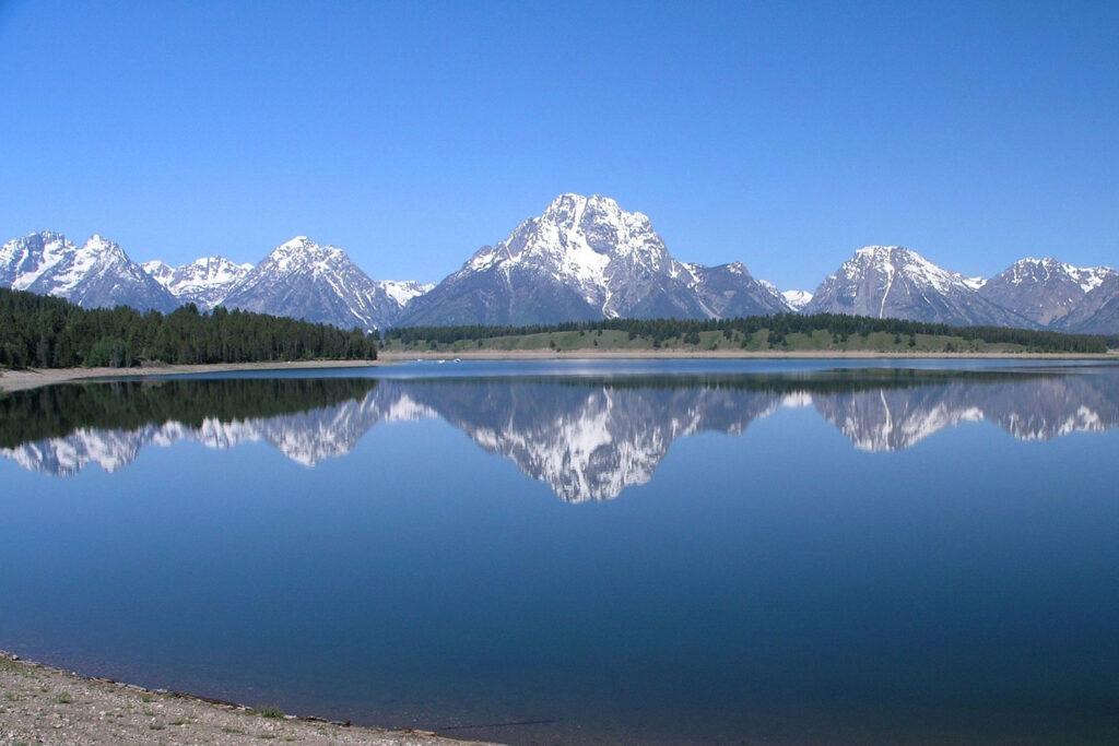 Teton National Park i Wyoming.