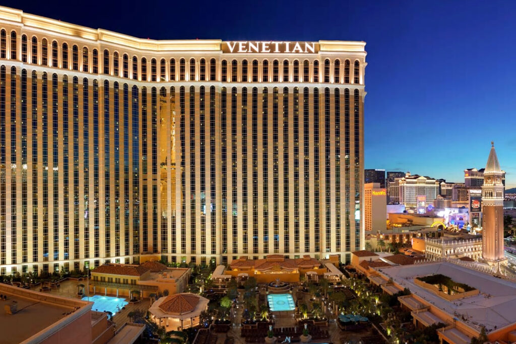 Venetian Resort, Las Vegas.