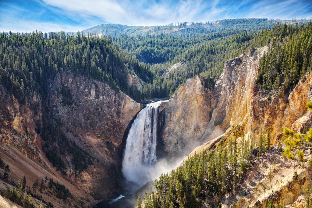 Yellowstone National Park i Wyoming.
