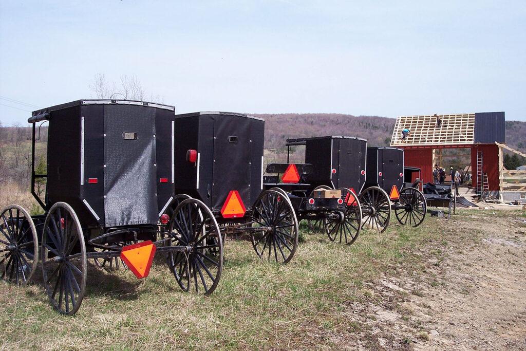 Amishfolk.