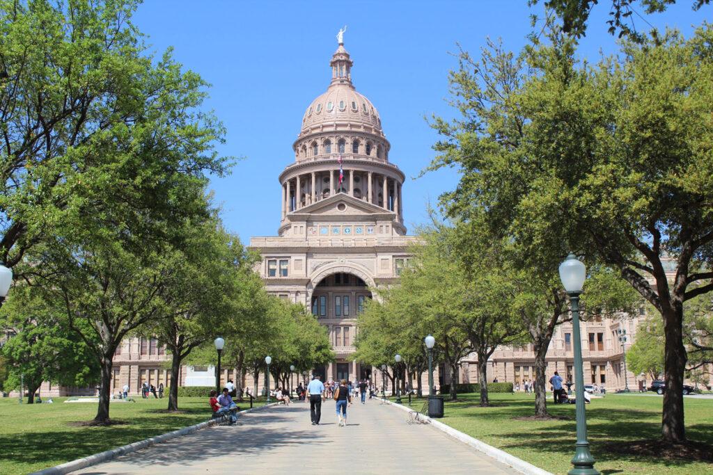 State Capitol i Austin, Texas.