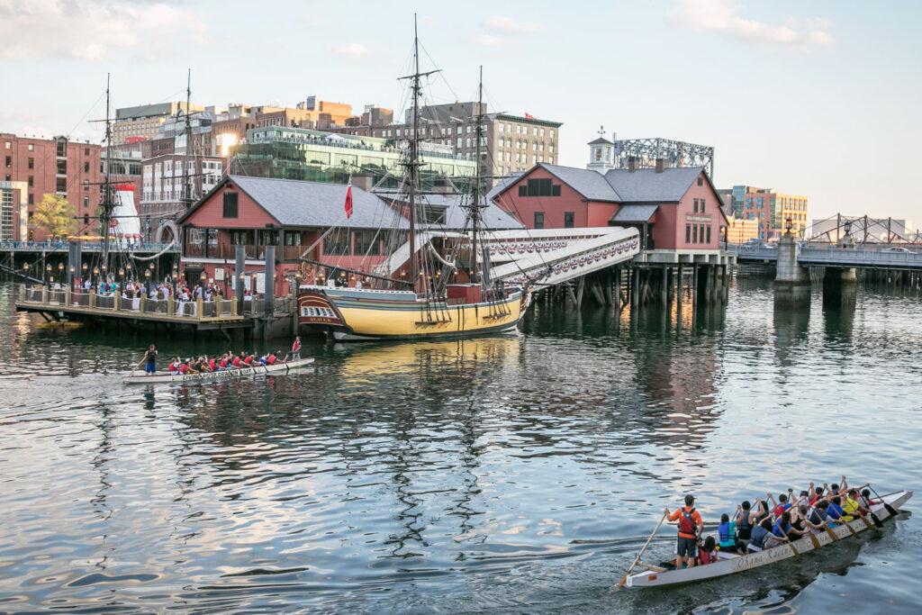 Boston i Massachusetts.