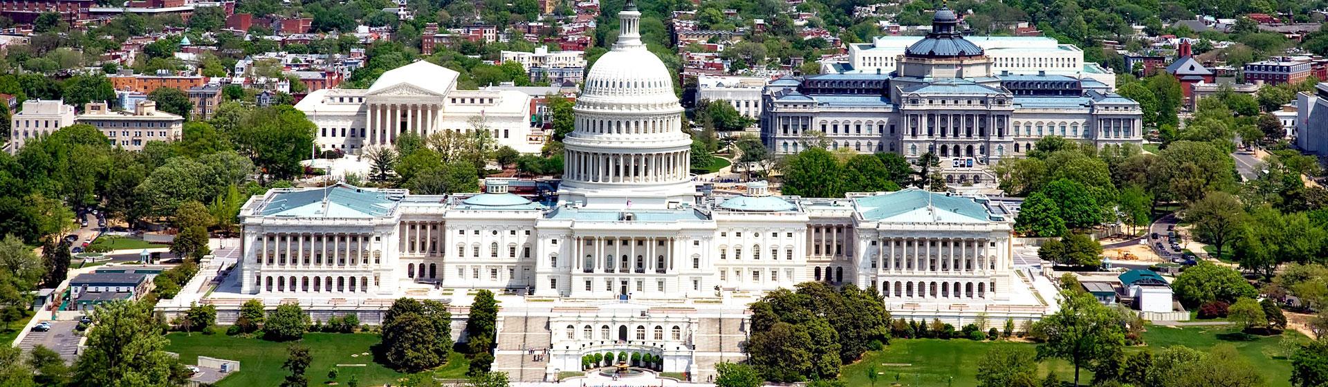 Capitolium i Washington DC.