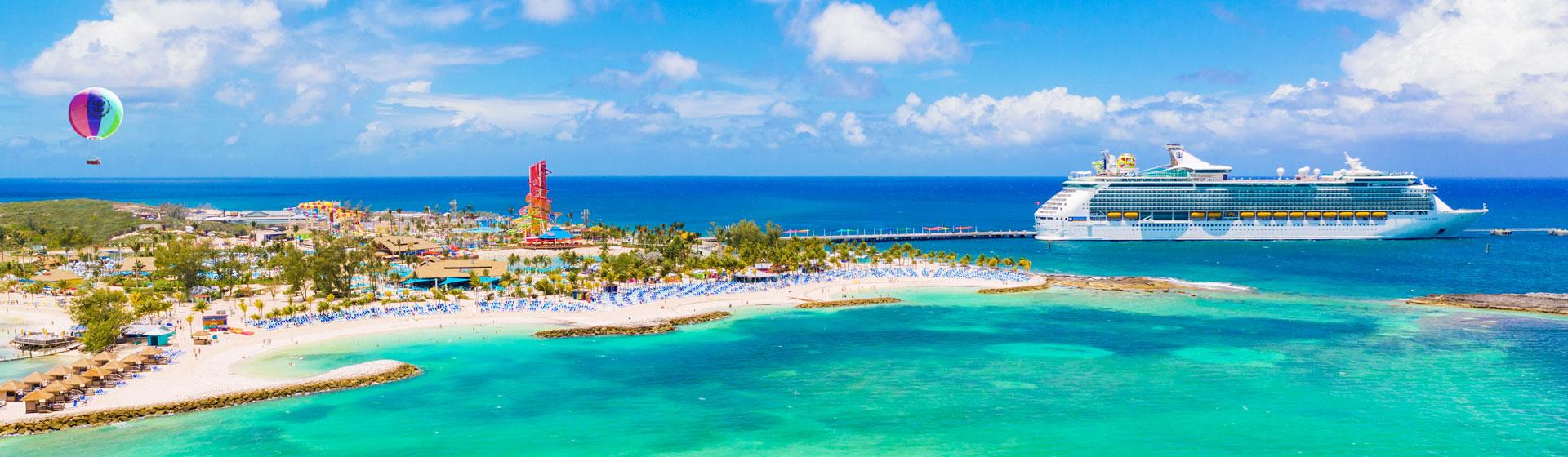 Cococay, Royal Caribbeans privata ö i Bahamas.