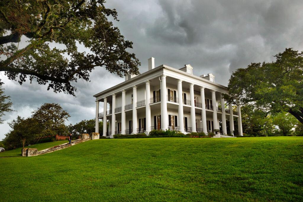 Dunleith Plantation i Natchez, Mississippi.