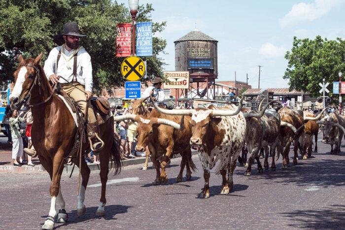 Fort Worth Stockyards, Texas.