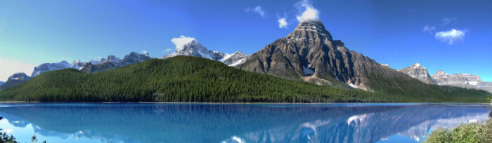 Jasper National Park i Kanada.