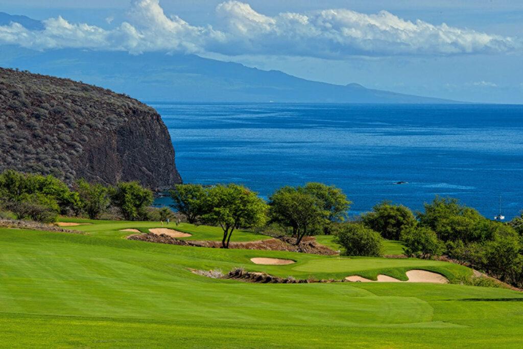 Manele Golf Course, Lanai, Hawaii.