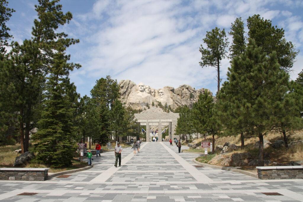Mount Rushmore National Memorial, South Dakota.