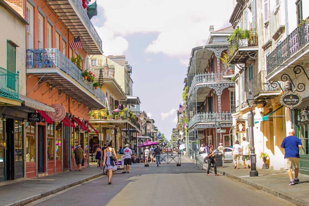 Franska kvarteren, New Orleans.
