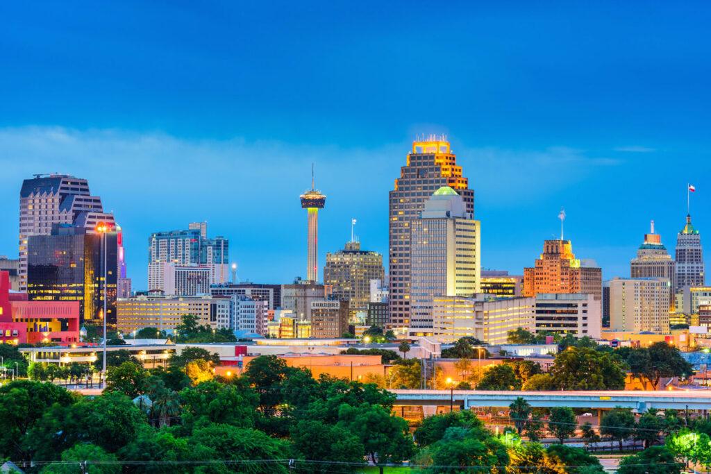 San Antonio, Texas.