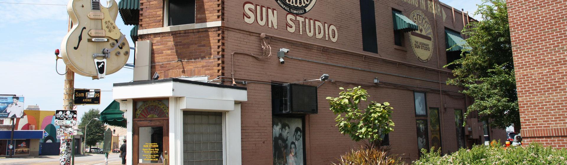 Sun Studio i Memphis, Tennessee.