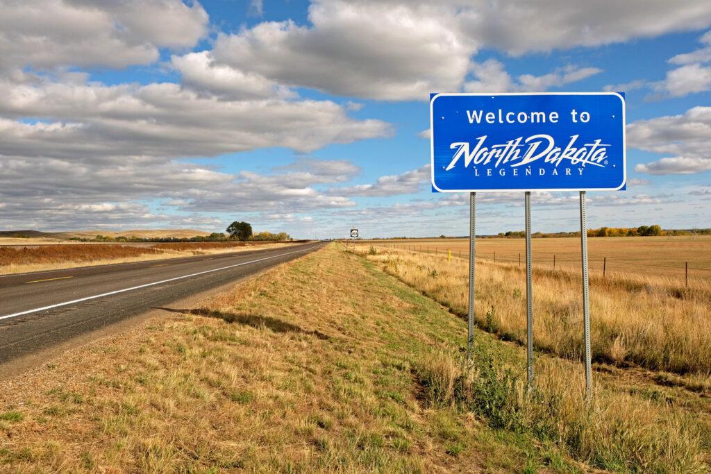 Välkommen till North Dakota.