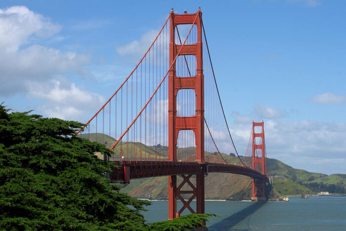 Golden Gate Bridge i San Francisco.