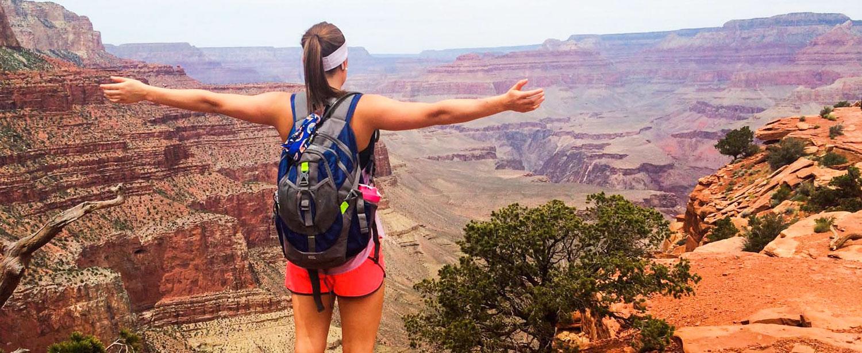 Utsikt i Grand Canyon.