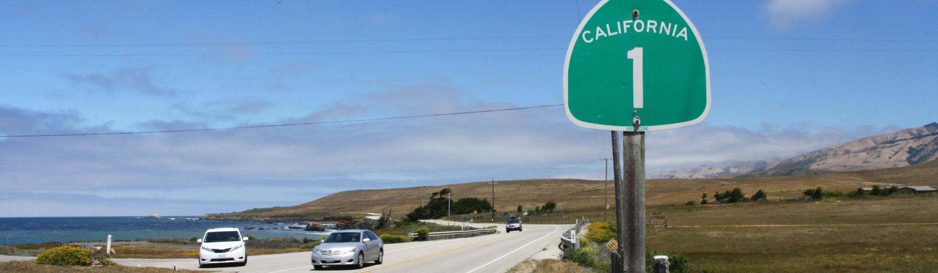 Highway 1 i Kalifornien.