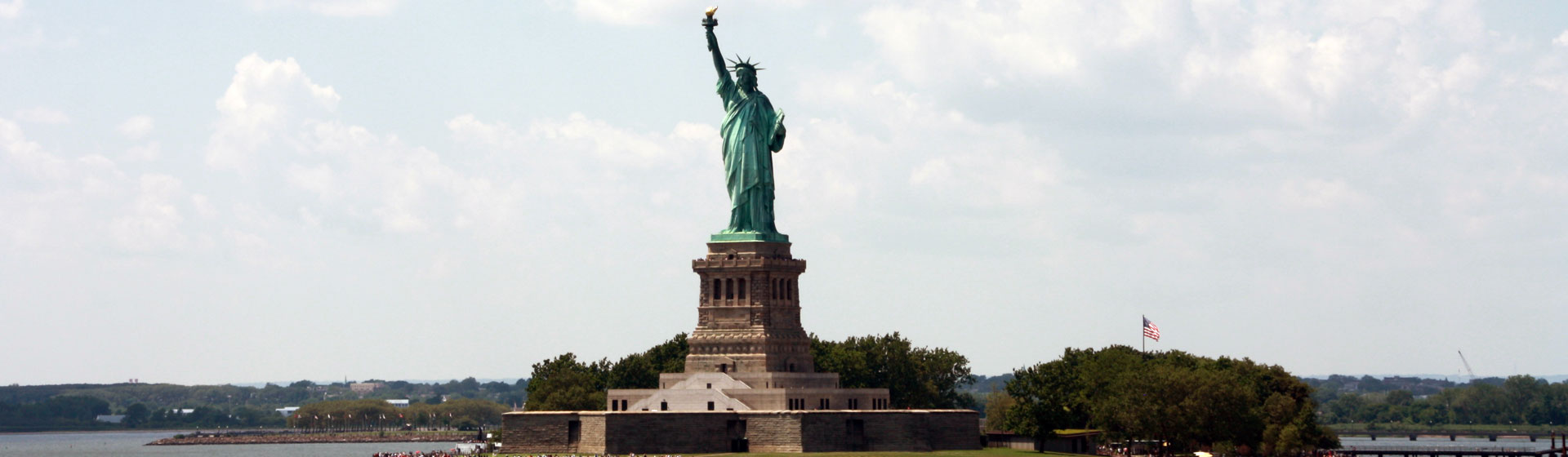 Frihetsgudinnan i New York.