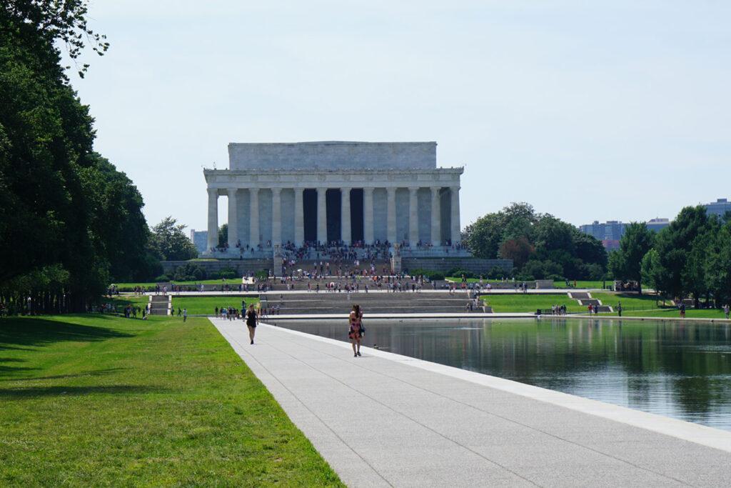 Lincoln Memorial i Washington DC.