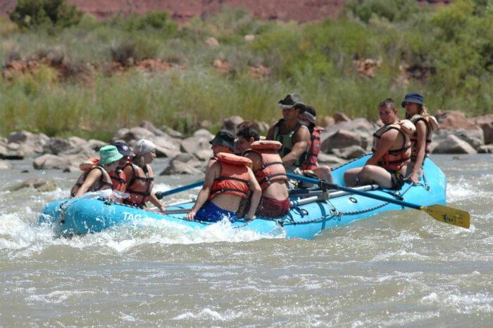 Forsränning på Coloradofloden.