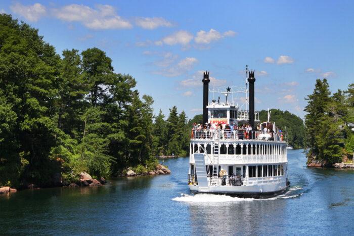 Båttur Thousand Islands med Island Queen.