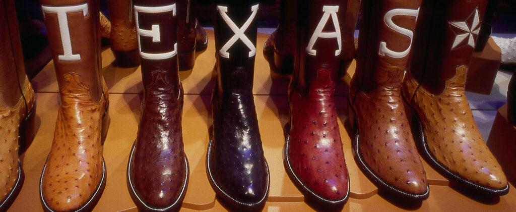 Boots från Texas.