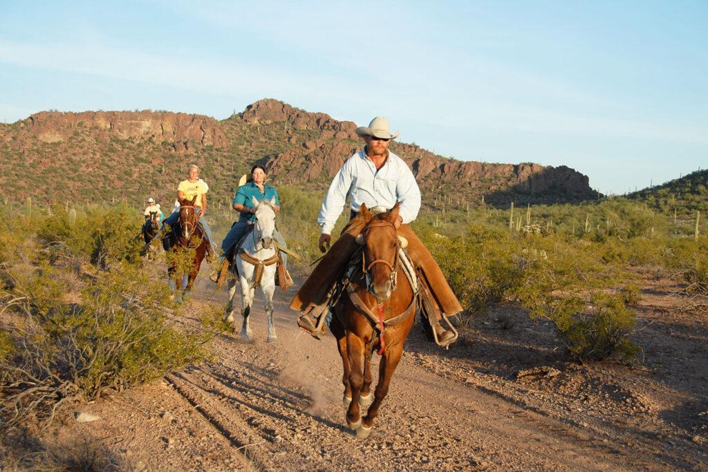 White Stallion Ranch i Tucson.