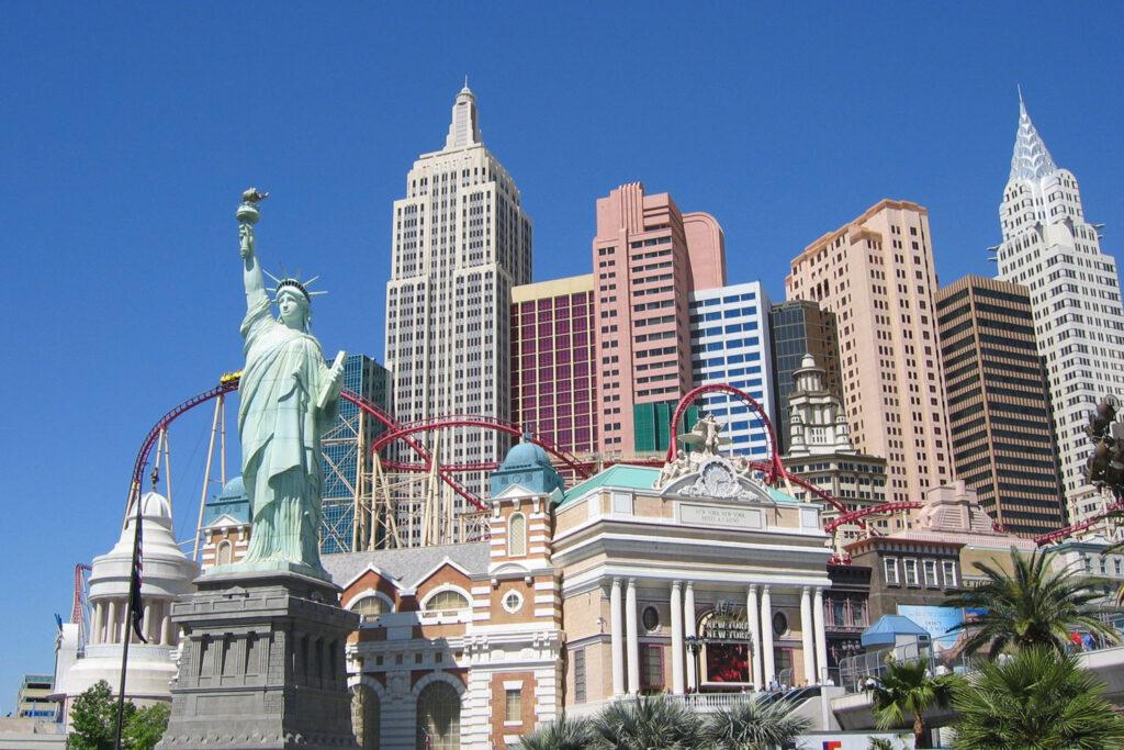 Hotell New York-New York i Las Vegas.