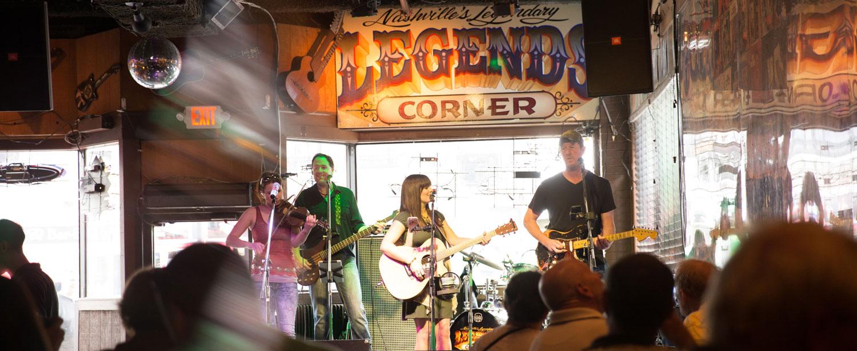 Musiker i Nashville.