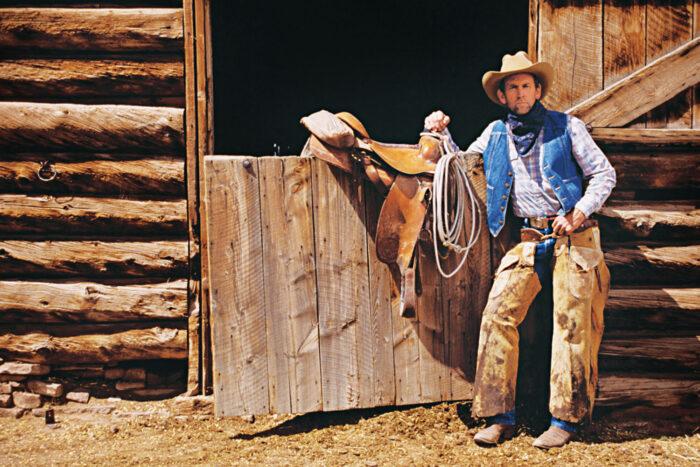 Cowboy i Texas.